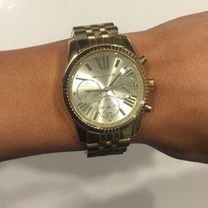 Authentic Gold Michael Kors Watch